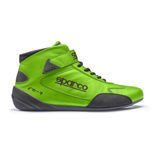 Sparco Italy CROSS RB-7 Green Racing Shoes (with FIA homologation)