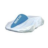 Sparco Italy Kart Cover silver and blue