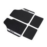Sparco Italy NEW STRADA - A Car Mats black/grey