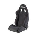 Sparco Italy R600 Jacquard Black/Red Tuning Car Seat