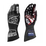 Sparco Italy Race Gloves ARROW RG-7 Black/Grey (with FIA homologation)