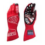 Sparco Italy Race Gloves ARROW RG-7 Red (with FIA homologation)