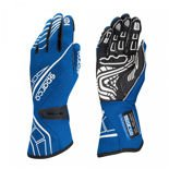 Sparco Italy Race Gloves LAP RG-5 Blue (with FIA homologation)