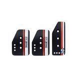 Sparco Italy SETTANTA black pedal pads (normal gas)