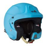 Stilo Italy WRC DES Rally Open Face Helmet Blue (Snell and FIA)
