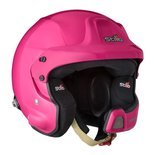 Stilo Italy WRC DES Rally Open Face Helmet Pink (Snell and FIA)