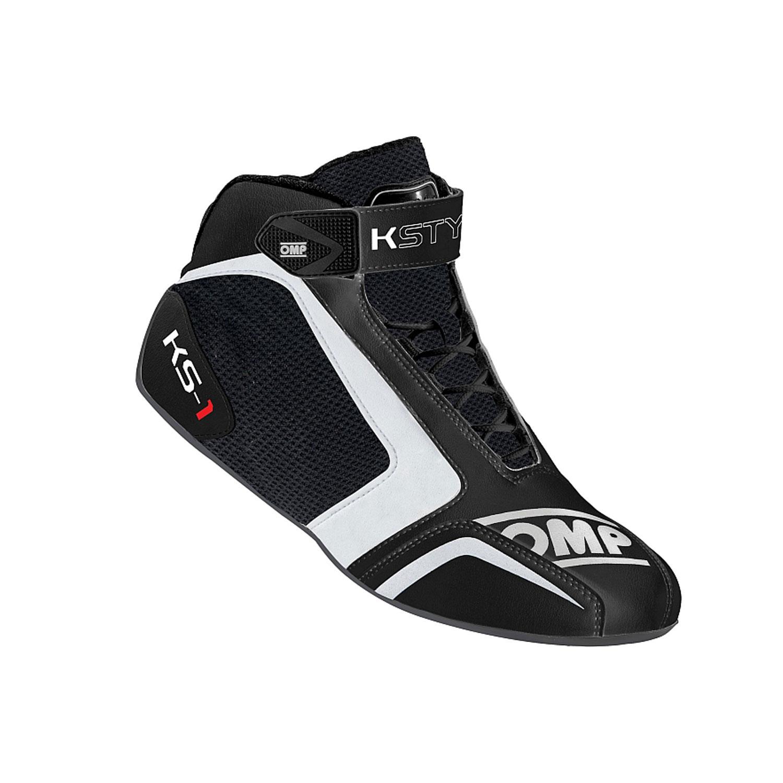 154fbc0f314 MY16 OMP Racing Italy KS-1 Karting Shoes Black White