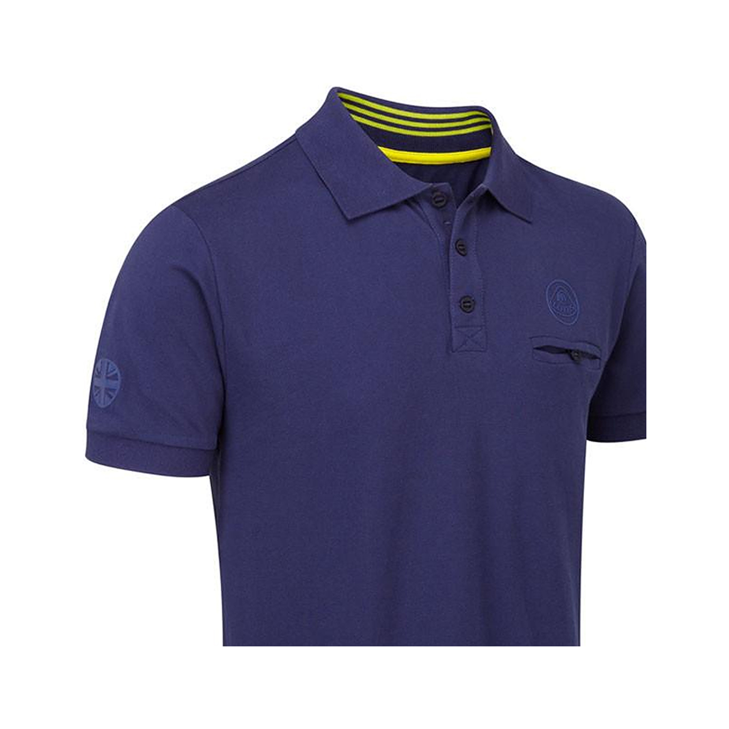2017 lotus racing men 39 s logo polo shirt blue clothing for Polo shirts with logos