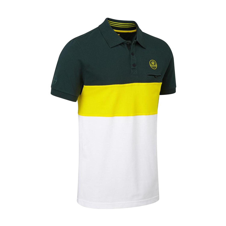 036d6669dc Lotus Racing Men's Logo Striped Polo Shirt