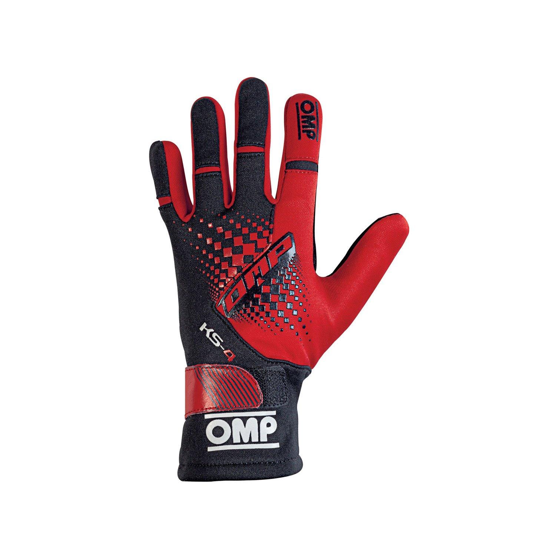 Omp Sport Gloves: OMP Italy KS-4 MY18 Karting Gloves Red