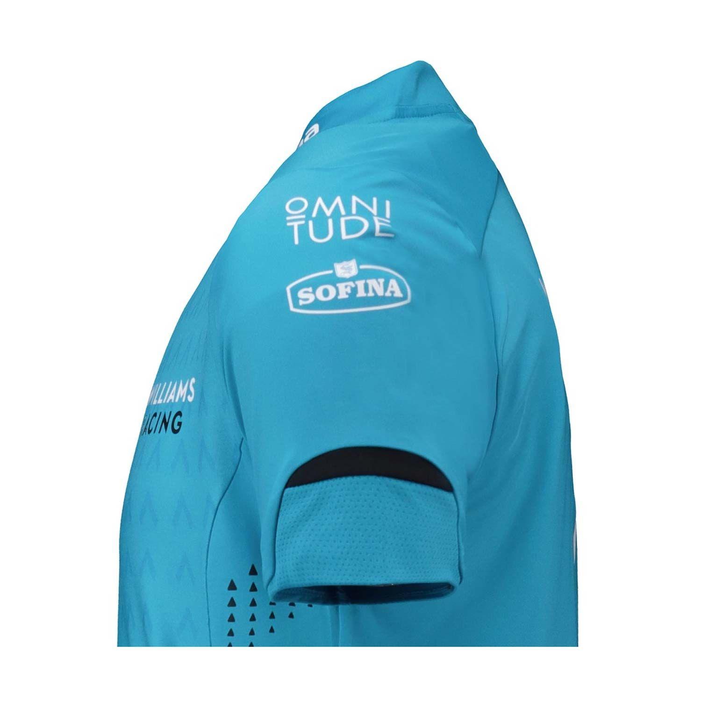 c34fa5fdbf972 2019 Williams Racing UK Mens Team Polo Shirt Blue | Clothing \ Polo ...