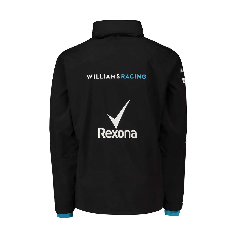 0035b731a80f2 2019 Williams Racing UK Mens Team Rain Jacket | Clothing \ Wind ...
