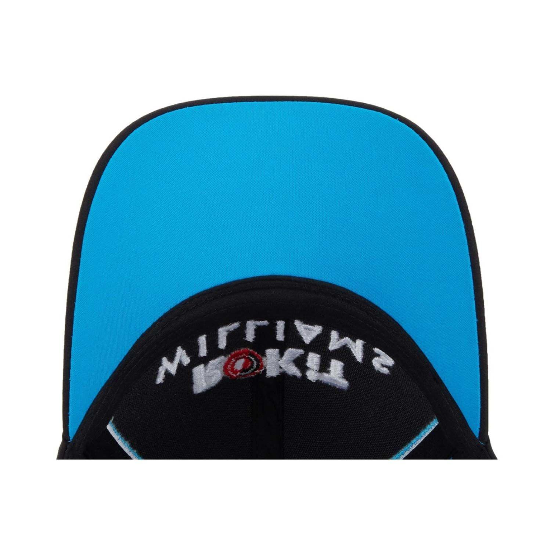 Williams Racing Team 2019 Baseball Cap Erwachsene Leichte Unisex F1 Sportm/ütze Schwarz