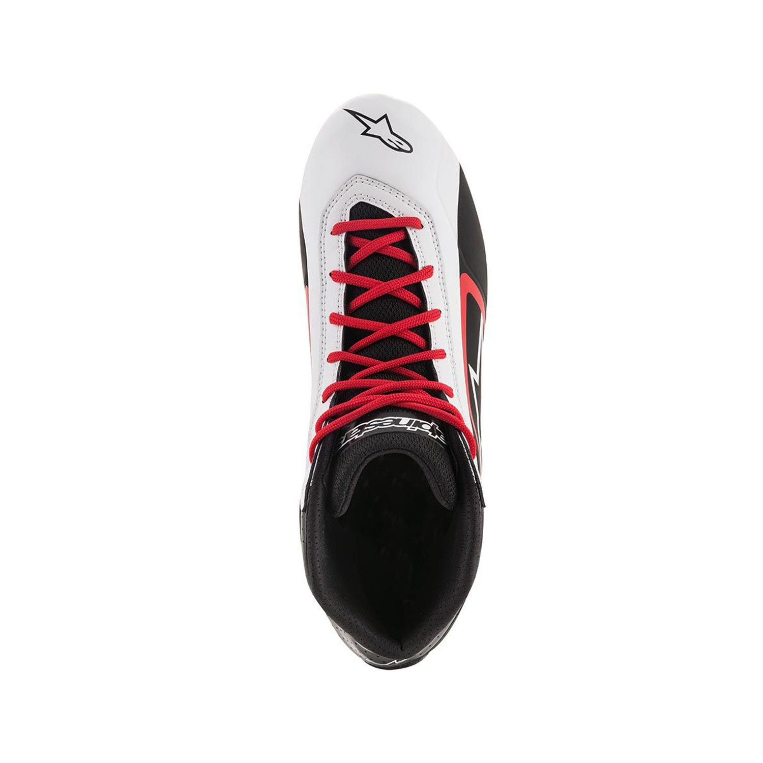 33788409cee1 ... Alpinestars Italy TECH 1-K START MY18 Karting Shoes White Black ...