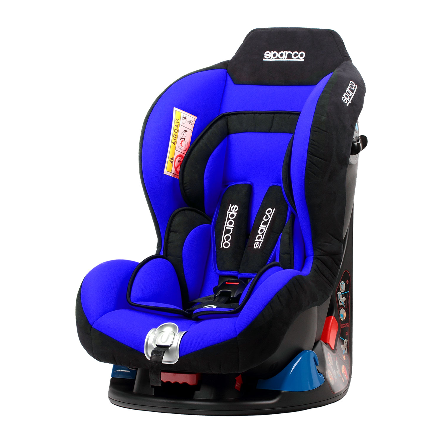 sparco italy f5000k blue child seat 9 18 kg niebieski. Black Bedroom Furniture Sets. Home Design Ideas