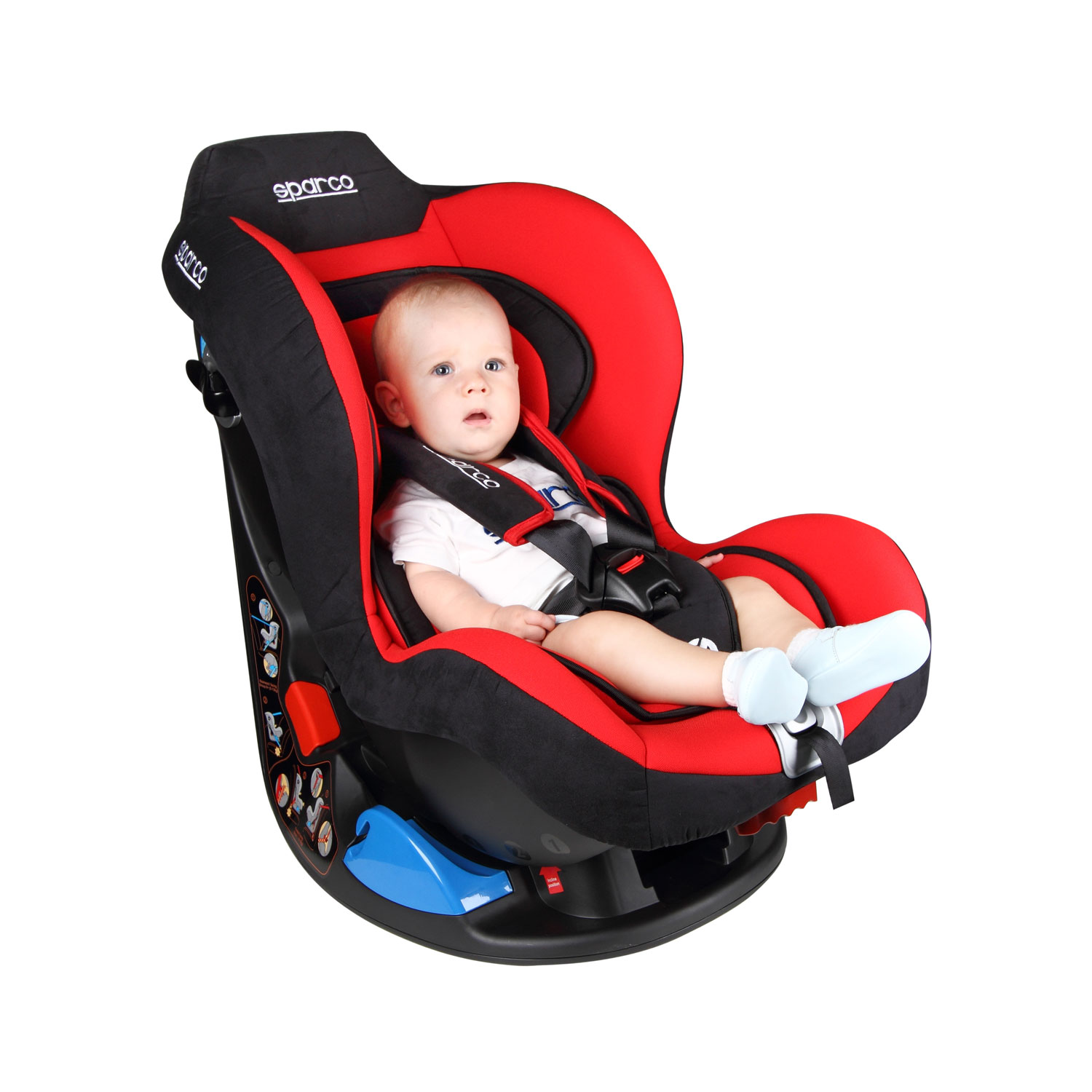 sparco italy f5000k grey child seat 9 18 kg grey car parts child seats shop by team. Black Bedroom Furniture Sets. Home Design Ideas