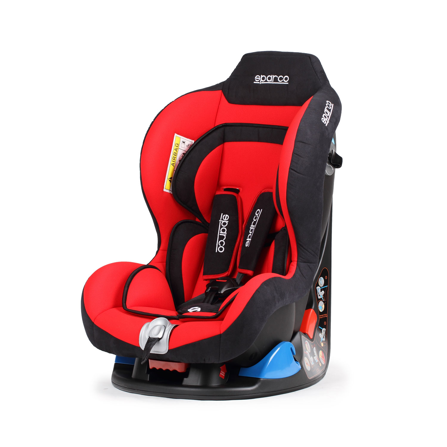 sparco italy f5000k red child seat 9 18 kg red car. Black Bedroom Furniture Sets. Home Design Ideas