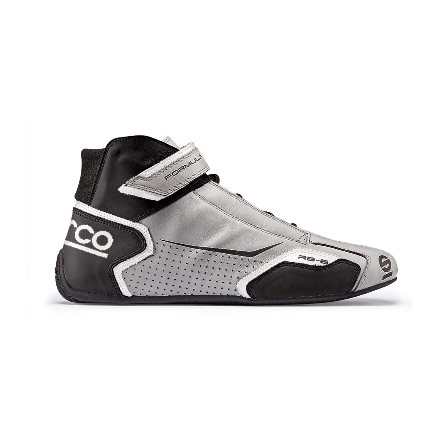 Sparco Italy FORMULA RB-8 Grey Racing Shoes (with FIA