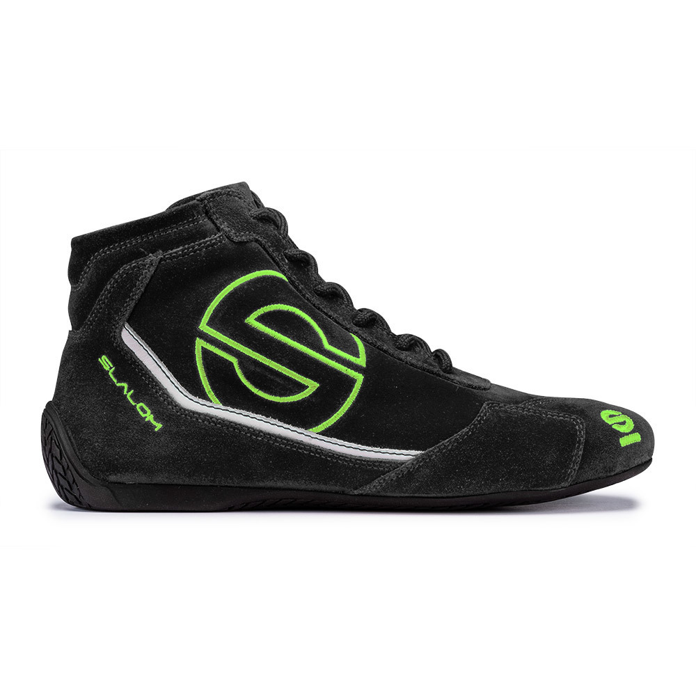 Black and Green Racing Shoes