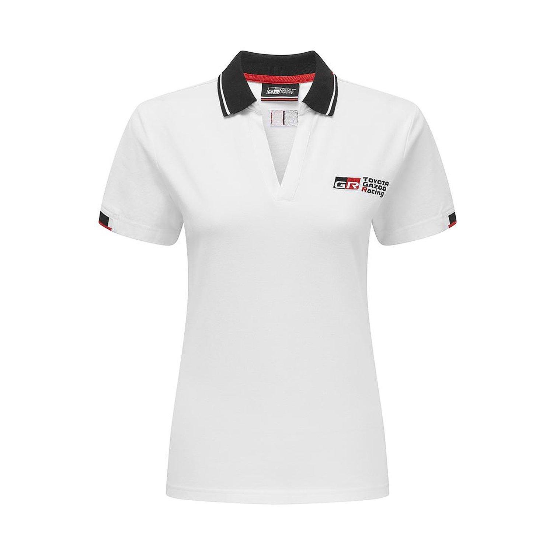 4953813287e Toyota WRC Racing Women's Logo Polo Shirt White | Clothing \ Polo ...