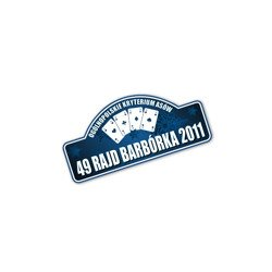 2011 Barborka Polish Rally Sticker Small