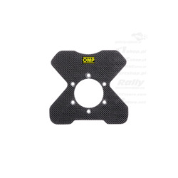 OMP Carbon Fibre Steering wheel button plate - 4 Buttons