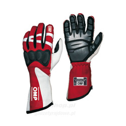 OMP Italy HTG red Racing Gloves (with FIA homologation)