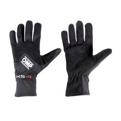 OMP Italy KS-4 Black Gloves