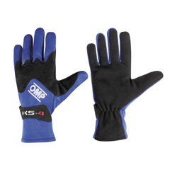 OMP Italy KS-4 Blue Gloves