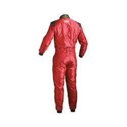 OMP Italy KS-4 Kids red Karting Suit (with CIK FIA homologation)