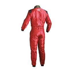 OMP Italy KS-4 red Karting Suit (with CIK FIA homologation)