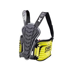 OMP Italy MY15 K-STYLE Rib Protection Vest yellow