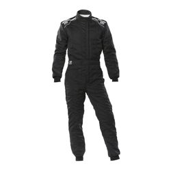 OMP Italy SPORT MY20 Racing Suit Black (with FIA homologation))