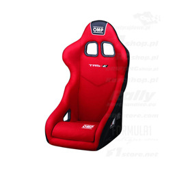 OMP Italy TRS MY14 red Racing Seat (with FIA homologation)