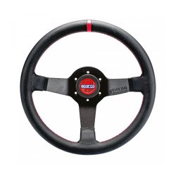 Sparco Italy CHAMPION 330 Leather Steering Wheel