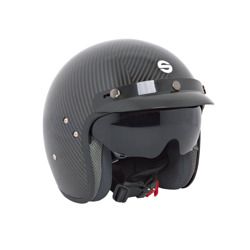 Sparco Italy CLUB J-1 Open Face Helmet Carbon