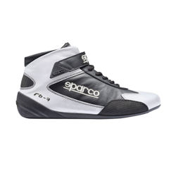 Sparco Italy CROSS RB-7 Racing Shoes Black/White (with FIA homologation)