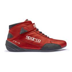 Sparco Italy CROSS RB-7 Red Racing Shoes (with FIA homologation)