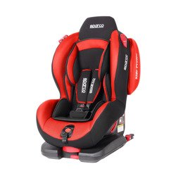 Sparco Italy F500I EVO Red Child Seat (9-25 kg) (19-55 lbs)