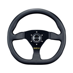 Sparco Italy L360 RING leather Steering Wheel (TUV homologation)