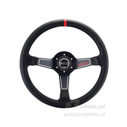 Sparco Italy L575 NERO Leather Steering Wheel