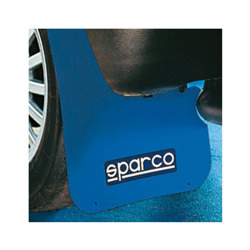 Sparco Italy Mud Flaps - Blue