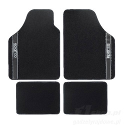 Sparco Italy NEW STRADA - A Car Mats black