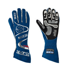 Sparco Italy Race Gloves ARROW H-7 blue (with FIA homologation)
