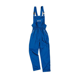 Sparco Italy SALOPETTE Mechanic Dungarees blue