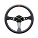 OMP Italy CORSICA BLACK-RED Leather Steering Wheel