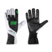 OMP Italy KS-3 Black-White and Fluo Green Gloves