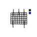 OMP Italy Window Safety Net FIA Approved - Black