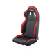 Sparco Italy R100 Black and Red Tuning Car Seat